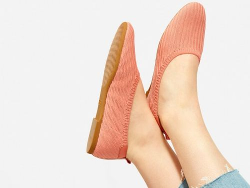 Everlane has a $98 women's flat made of recycled plastic bottles - it might be the most comfortable pair we've ever tried