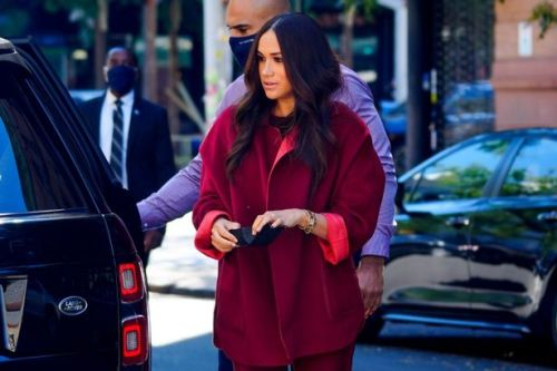 Meghan Markle's masterclass in nailing the art of autumn/winter dressing