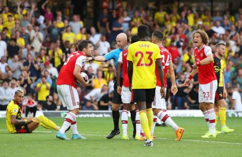 Granit Xhaka says his Arsenal team-mates were 'scared' during draw with Watford