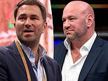 Eddie Hearn hits out at 'stubborn' Dana White for bypassing lockdown measures to host UFC 249