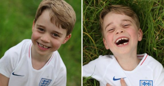 Kate and William share cute photos of birthday boy Prince George as he turns six