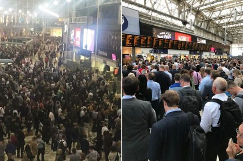 Waterloo station travel chaos after broken down train sparks delays and cancellations for London commuters