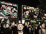 Hong Kong's anti-mask law is 'unconstitutional', high court rules