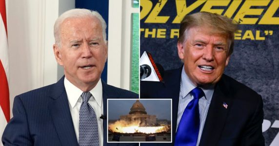 Joe Biden's White House 'wants to release Capitol riot information as Donald Trump objects'