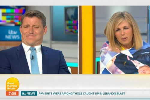 Kate Garraway leaves Ben squirming as she speaks about him 'oozing' all over her
