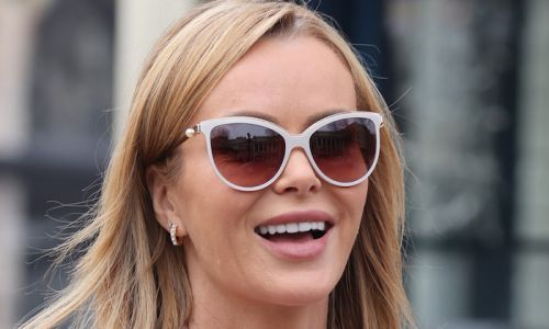 Amanda Holden looks incredible in her nautical-inspired outfit