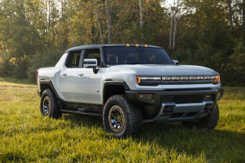 GMC just revealed the all-new Hummer EV, a 1,000-horsepower electric pickup to take on the Tesla Cybertruck - take a closer look