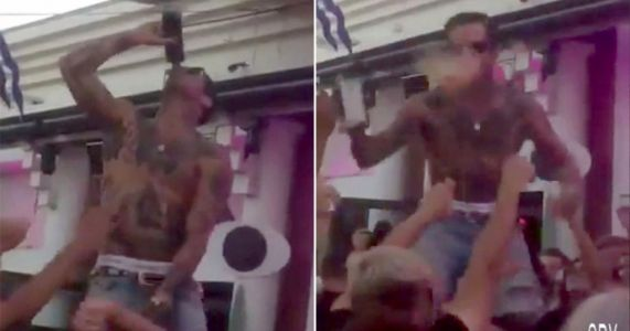 DJ spits drink over packed crowd at Costa del Sol nightclub