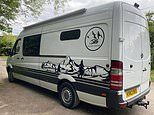DIY staycation! Family-of-four build camper van for £11,000 by converting a second-hand Mercedes