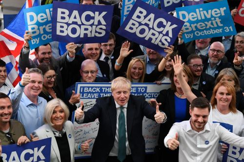 Boris Johnson more popular now than when he became PM, according to poll