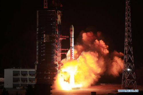 China launches four 'technology experiment satellites'