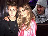 Cara Delevingne slams Justin Bieber after he said she was his LEAST favourite out of Hailey's pals