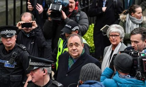 Court told that naked Alex Salmond tried to rape woman in official residence