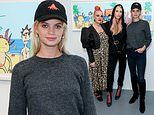 Pixie Geldof nails casual chic as she is joined by Lady Mary Charteris at Project Zero event