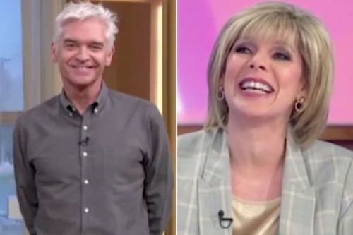 Ruth Langsford speaks to Phillip Schofield for the first time on TV since 'formal complaint'
