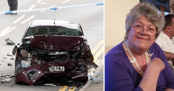 Coked up Audi driver killed gran while driving 'like a nutter' in 90mph crash