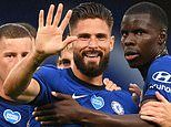 Chelsea 3-0 Watford: Olivier Giroud, Willian and Ross Barley help Blues back to winning ways