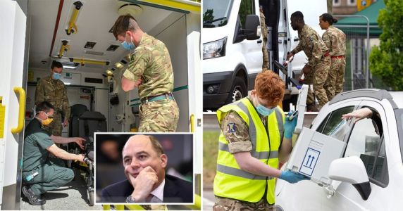 Around 4,000 troops on standby to help NHS cope this winter