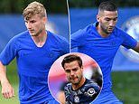 Chelsea new boys Timo Werner and Hakim Ziyech tipped to make huge impact by Cesar Azpilicueta