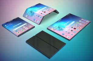 The next Samsung Galaxy Fold could fold twice over