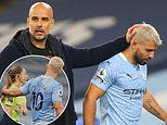 Pep Guardiola continues to defend Sergio Aguero in Sian Massey-Ellis row