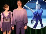 Christopher Dean and Jayne Torvill's Olympic Bolero skating routine is recreated for upcoming drama