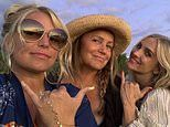 Jessica Simpson, 40, is seen in a rare photo with her sister Ashlee, 36, and mom, 61