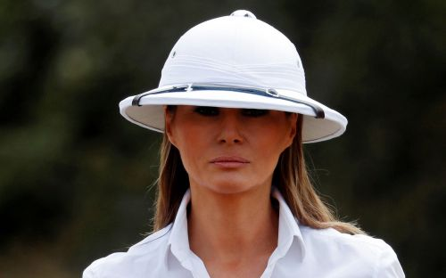 Melania Trump's plane forced to turn around after smoke fills cabin