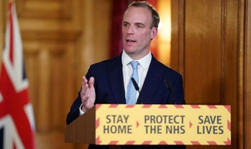 If Dominic Raab gets sick, who is in charge then?
