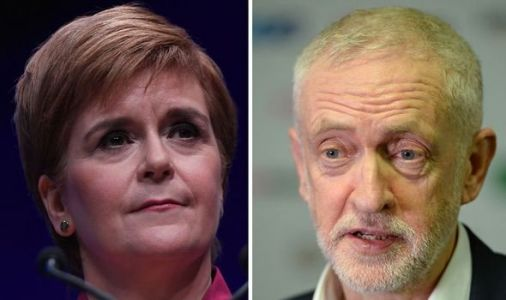 Nicola Sturgeon makes incendiary claim Jeremy Corbyn could be allowing Boris Brexit win