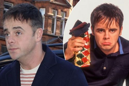 Ant McPartlin dons throwback '90s hair-do as he steps out for Britain's Got Talent auditions