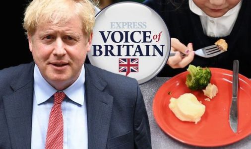 Boris Johnson should NOT perform U-turn on providing free school meals in England - poll