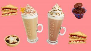 Costa's festive menu is here and it's exactly what we want for Christmas