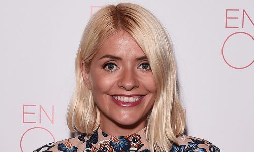 Holly Willoughby channels Princess Diana in her iconic black sheep sweater