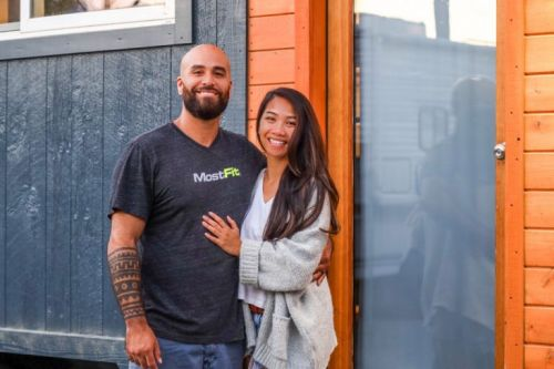Couple spend £19k on tiny home on wheels and travel the US for work