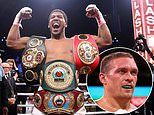 Anthony Joshua officially ordered to defend WBO title against mandatory challenger Oleksandr Usyk