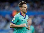Man United target Ivan Rakitic 'decides he won't leave Barcelona in the January transfer window'