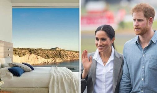 Royal escape: Inside Meghan Markle and Prince Harry's 7-bed £108,000 a-week Ibiza mansion