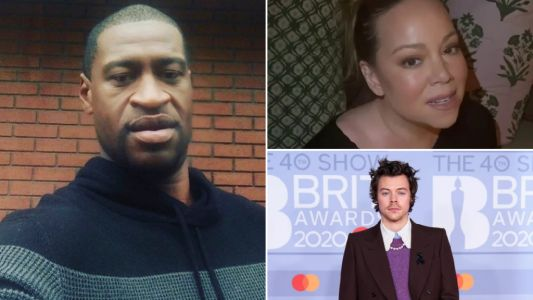 Mariah Carey and Harry Styles demand justice for George Floyd as celebs continue to speak out after tragic death