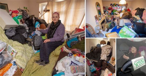 Inside home of 'worst hoarder ever seen' as she is evicted
