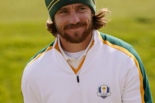 Europe's Tommy Fleetwood labelled NFL star Aaron Rodgers' lookalike by Ryder Cup rival
