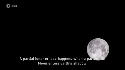 The UAE Witnessed A Partial Lunar Eclipse Last Night And Well Residents Were Fascinated