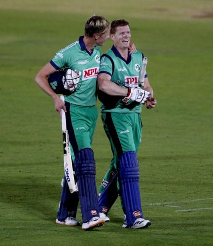 Ireland celebrate a win 'we'll remember forever'