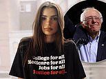 Emily Ratajkowski is 'devastated and disheartened' that Bernie Sanders officially dropped out