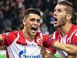 Champions League round-up: Red Star Belgrade draw away, Krasnodar thrashed and Dinamo Zagreb win