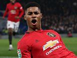 Rashford 'could have injured his knee celebrating at Chelsea. and may MISS Bournemouth clash'