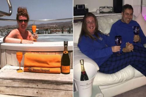 Stalker posts champagne celebration snaps as early jail release angers victims