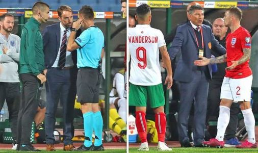 Bulgaria vs England anti-racism announcement made as Euro 2020 qualifying clash halted