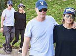 Lisa Rinna and Harry Hamlin look loved up as they enjoy weekend hike together in Beverly Hills