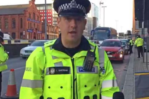 BREAKING Police inspector Lee Bartram pleads guilty to making indecent images of a child and distributing similar images